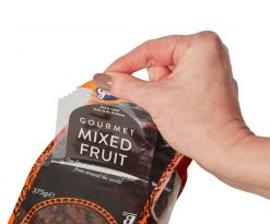 Gem Mixed Fruit resealable snack pack